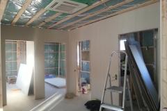 Kattokasetilla saadaan huomaamaton lopputulos. Sisäyksikön alapinta jää katon lopullisen pinnan tasalle.