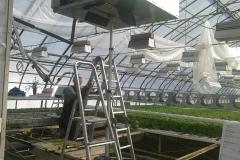Kasvihuoneen lämpöpumppujärjestelmän korjaustyö