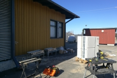 Tyrnävän paloaseman lämmitysjärjestelmän muutostyö