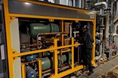 Calefa 2x1000 kW lto-lämpöpumppu